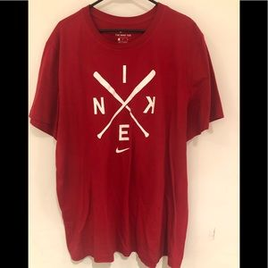 NIKE BASEBALL SZ XL WORN ONCE SHIRT
